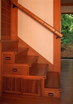 DKO ARCHITECTS and ASSOCIATES > projects > residential > fleishman - asian - staircase - san francisco - Donald K. Olsen, AIA Architects