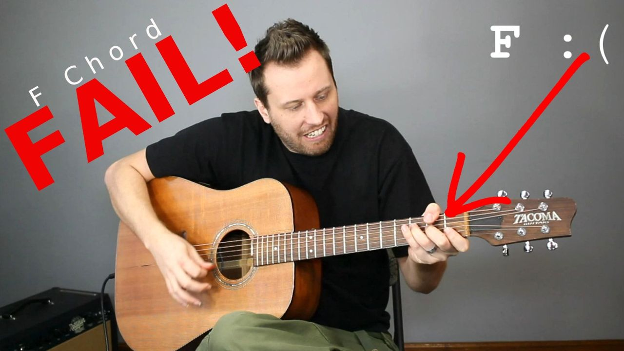 Guitar Cheats 5 Easy Ways To Play An F Chord Youtube My