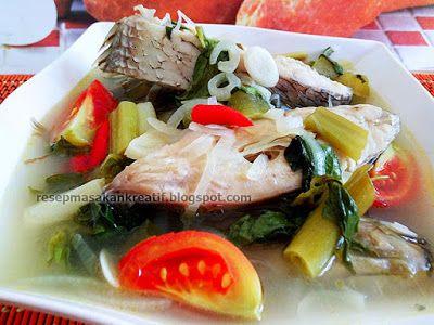 Resep Sup Ikan Gurame Enak Kuah Bening Sup Ikan Resep Masakan Indonesia Masakan Indonesia