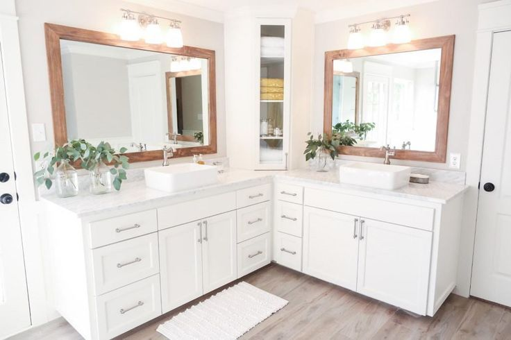 Fixer Upper Corner Bathroom Vanity Fixer Upper Bathroom Joanna