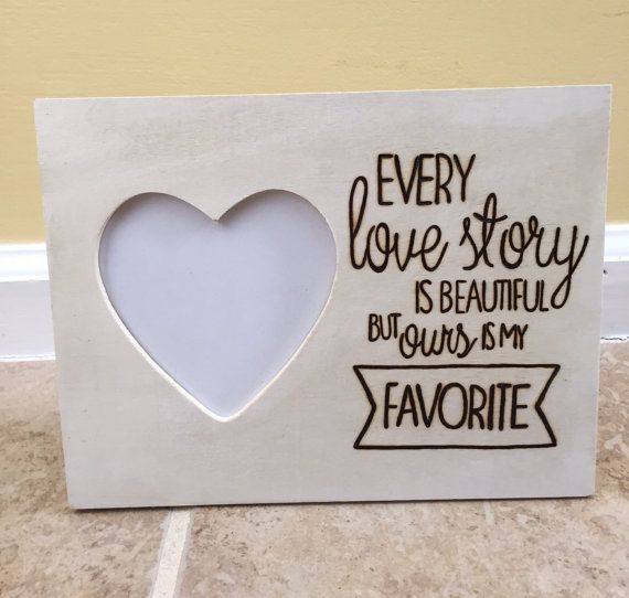 Love Quote Picture Frames Gorgeous Love Quote Wood Picture Framelumberquotes On Etsy