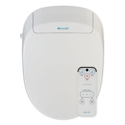 Brondell Swash 300 Advanced Bidet Seat For Elongated Toilet In