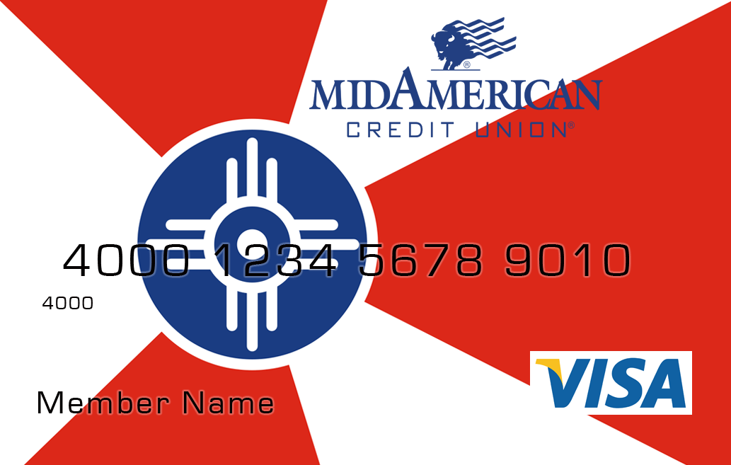 You can personalize your MACU VISA debit card with the