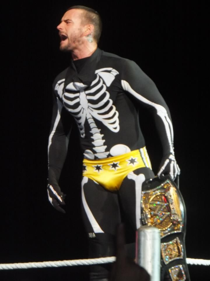 wwe celebrates the best and worst gimmicks cm punk wrestles in halloween costume - Triple H Halloween Costume