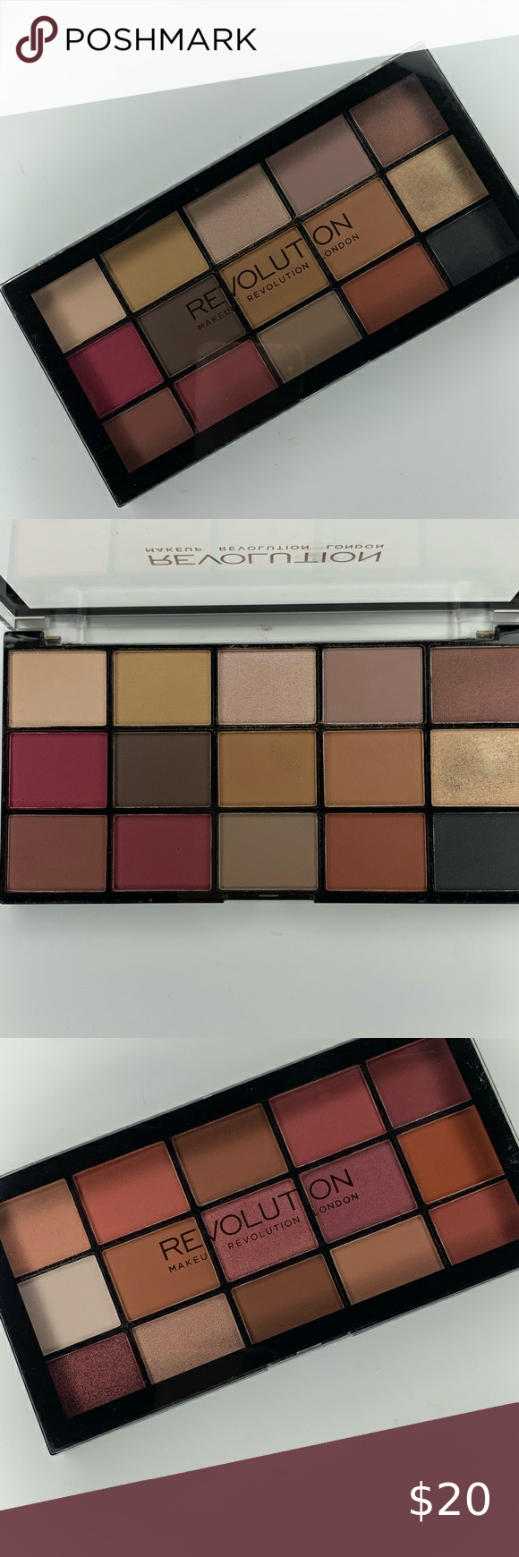MAKEUP REVOLUTION BUNDLE These are the Reloaded Palettes