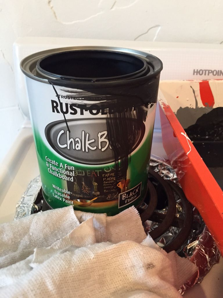 Countertop Quick Fix Chalk Paint The Style Sisters