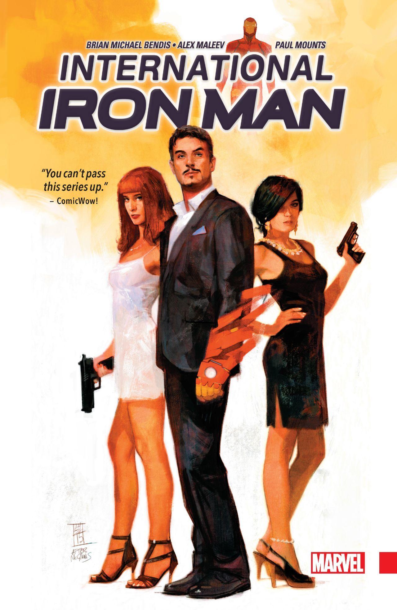 International Iron Man #TPB #Marvel @marvel @marvelofficial #IronMan (Cover Artist: Alex Maleev) Release Date: 10/26/2016