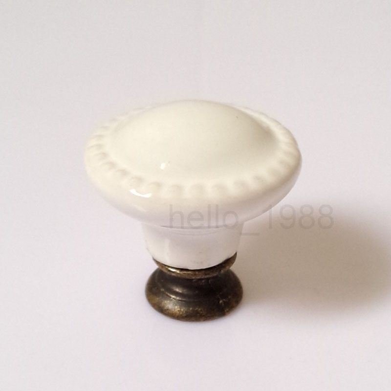 Pull Cabinets, Doors Simple Cheap Vintage Ceramic Knob Handle for Cupboards