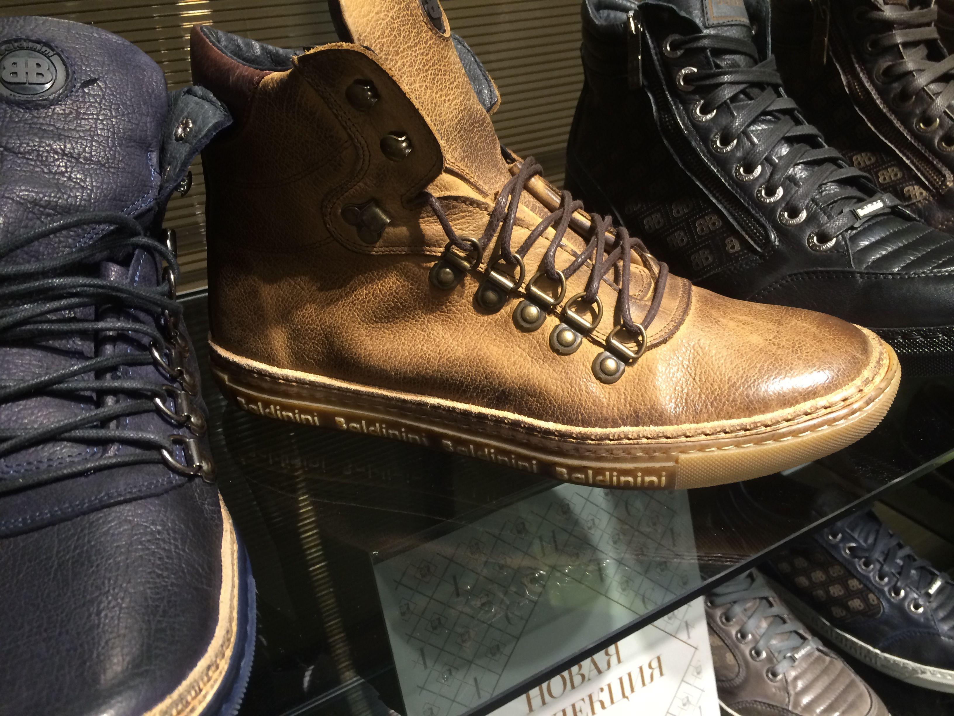 Baldinini Men Shoes Brown Seen in the Baldinini Outlet shop