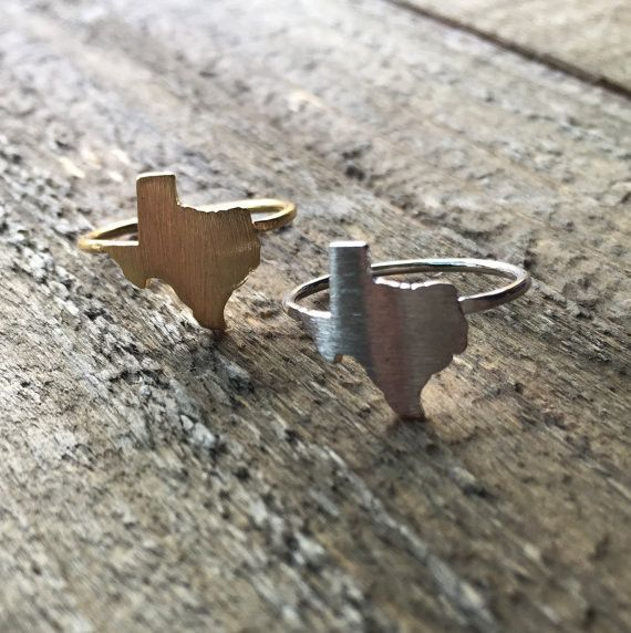 Texas Ring | Texas jewelry, Texas gifts, Texas fashion