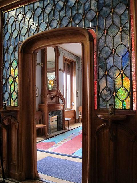 Maison Bergeret (1904), Entrée de la salle à manger - 2 rue Lionnois