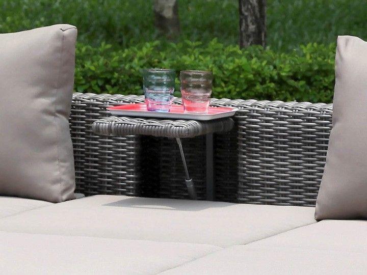 jack lounge gartenmöbel gartenset 14-teilig zebra poly rattan ... - Gartenmobel Lounge Polyrattan