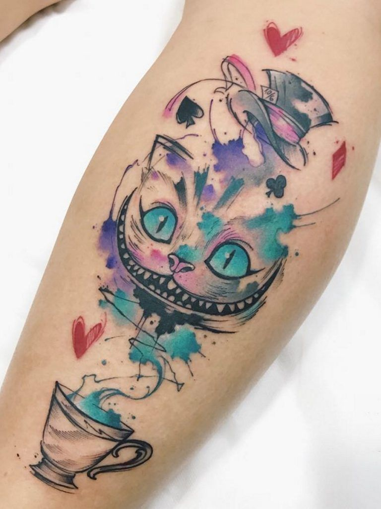 70 Gorgeous Looking Watercolor Tattoo Ideas For Women Sleeve