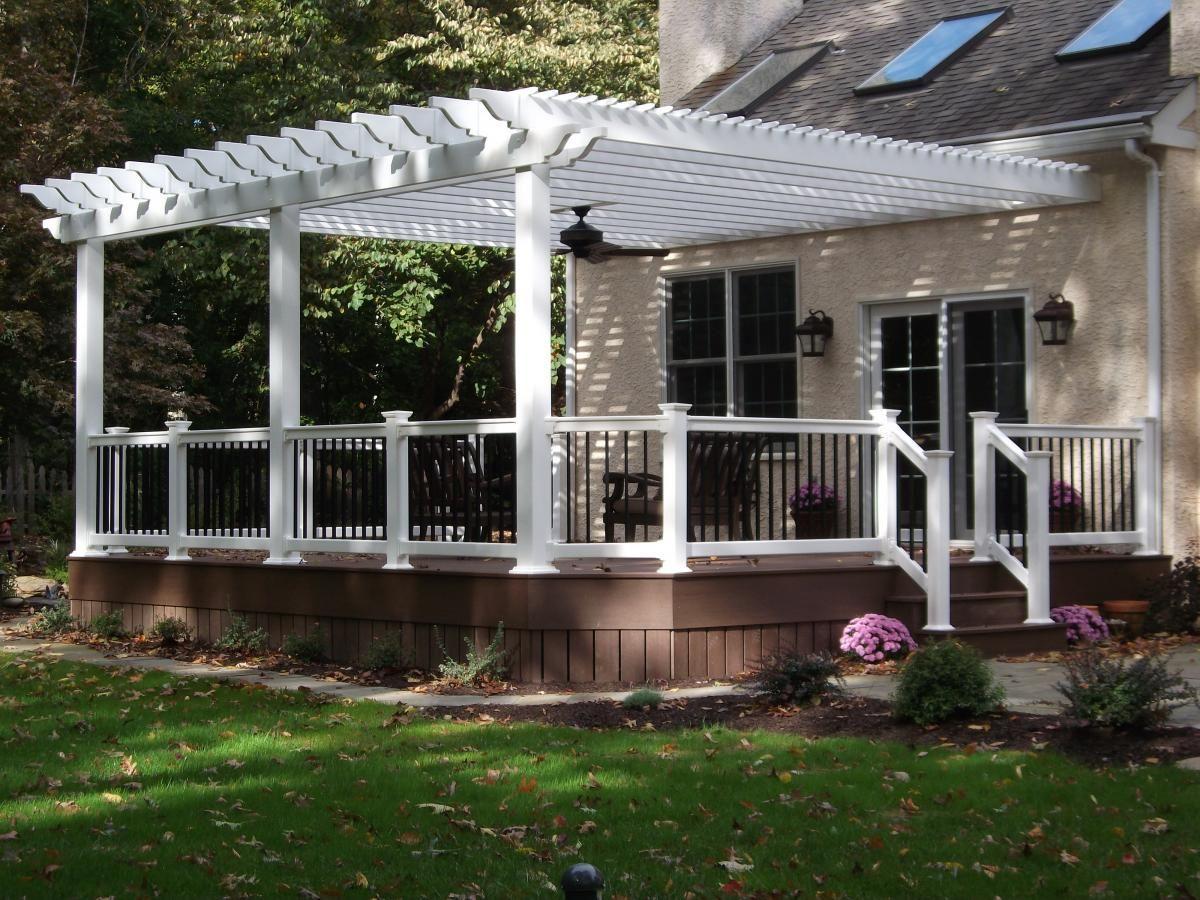 decks with gazebos decks with pergolas porch decks deck ideas rh pinterest ca