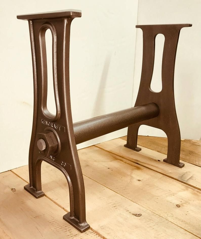 26 1 Pair Cast Aluminum Table Legs Vintage And Etsy Aluminum