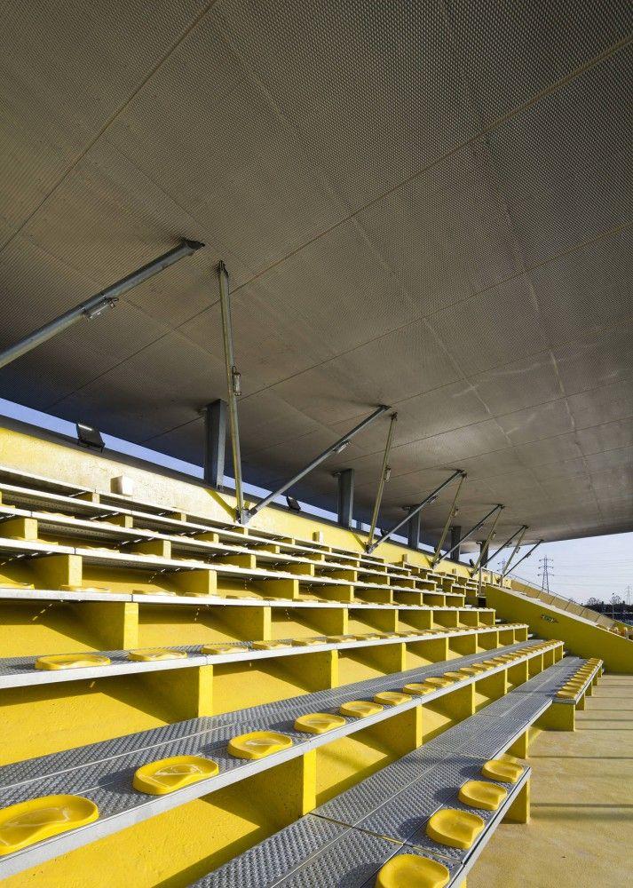 Dominique Duvauchelle Stadium Atelier Du Pont Stadium Architecture Stadium Design Architecture