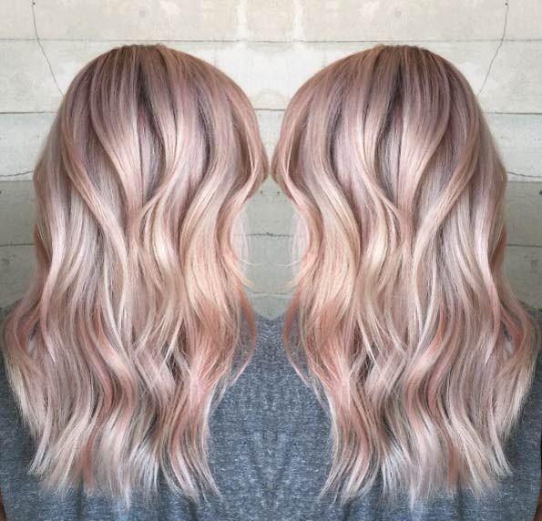 Haare Gold