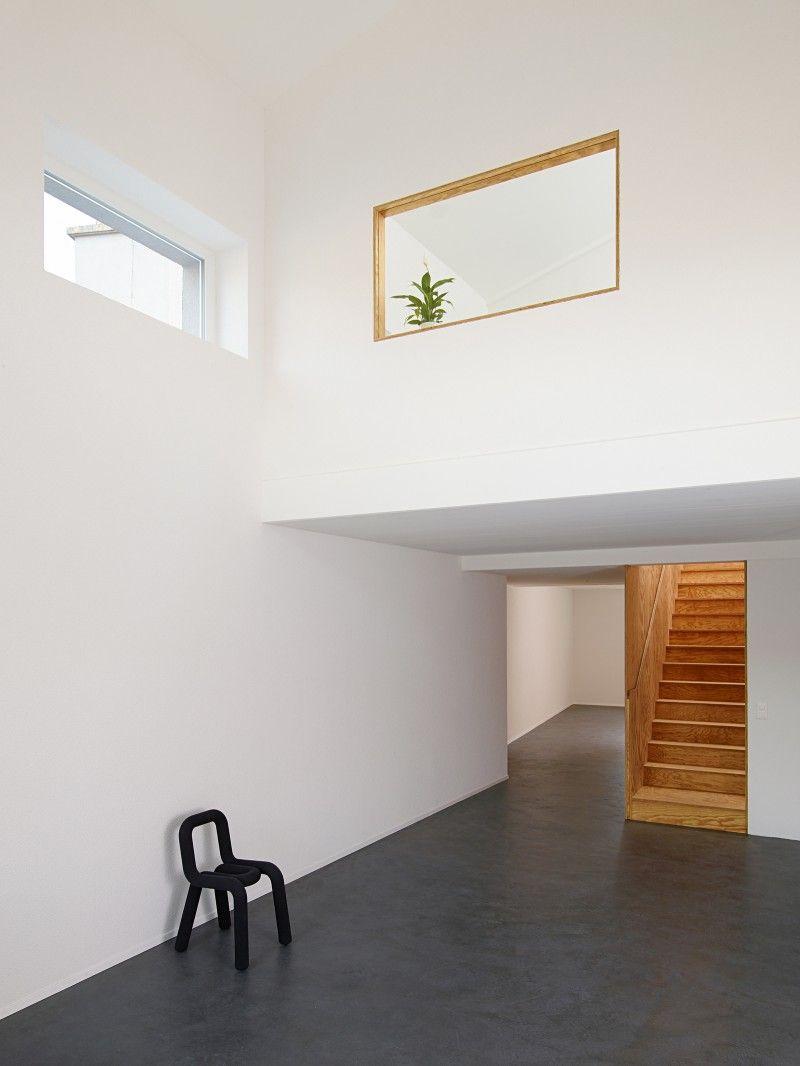 wit interieur met multiplex