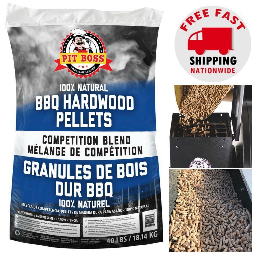Bbq hardwood pellets grilling fuel for pellet smoker 100