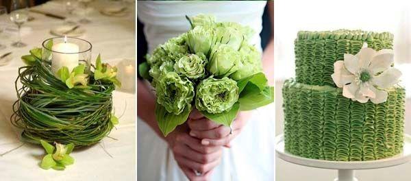 Идеи свадьбы в зеленом цвете фото