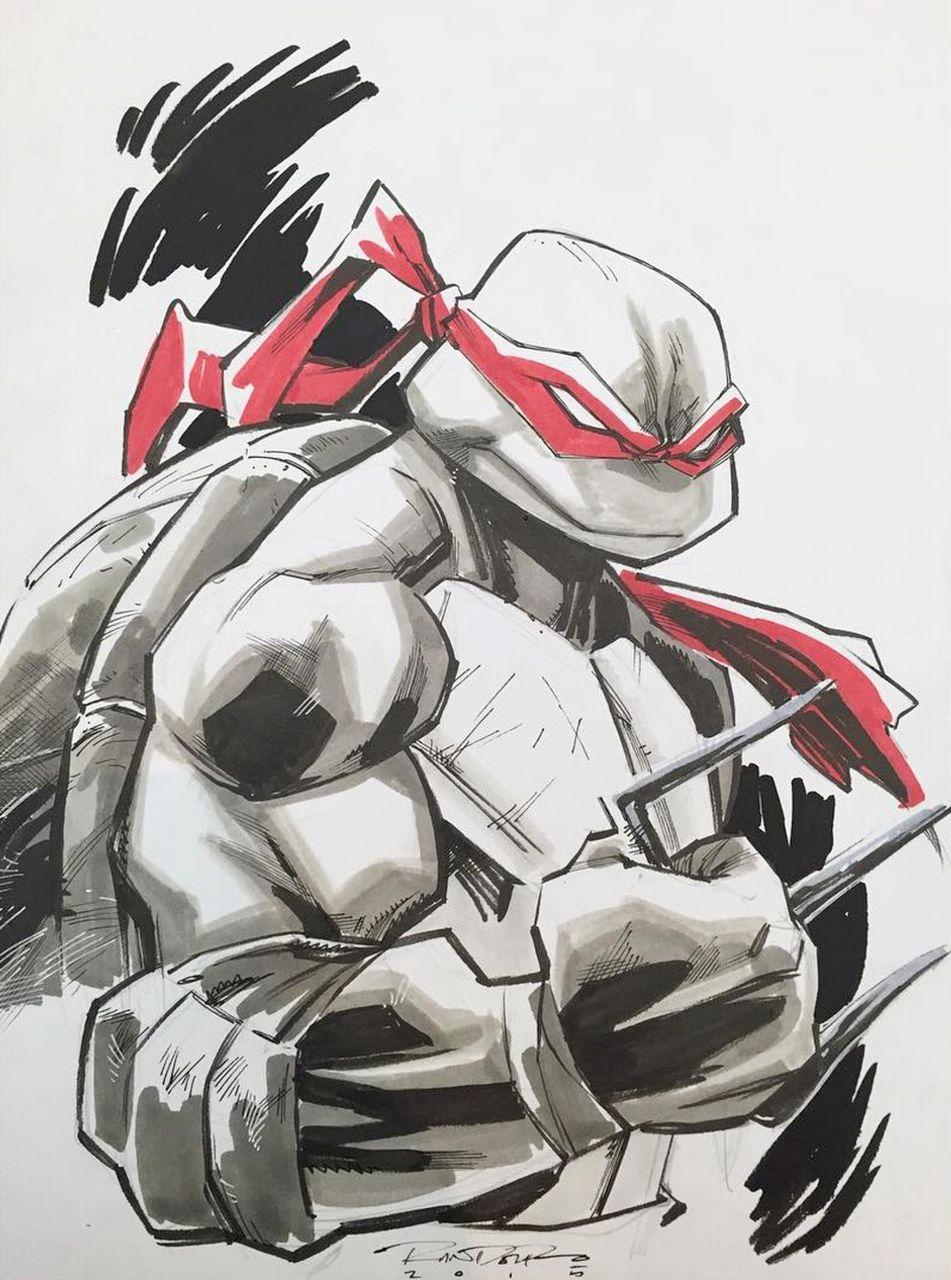 Raphael By Khary Randolph Ninja Turtles Artwork Teenage Mutant