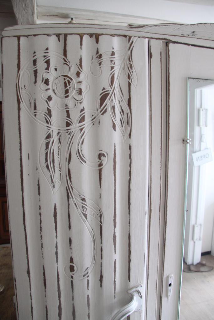 gr nderzeitschrank mit spiegel mercy in shabby chic in baden w rttemberg calw ebay. Black Bedroom Furniture Sets. Home Design Ideas
