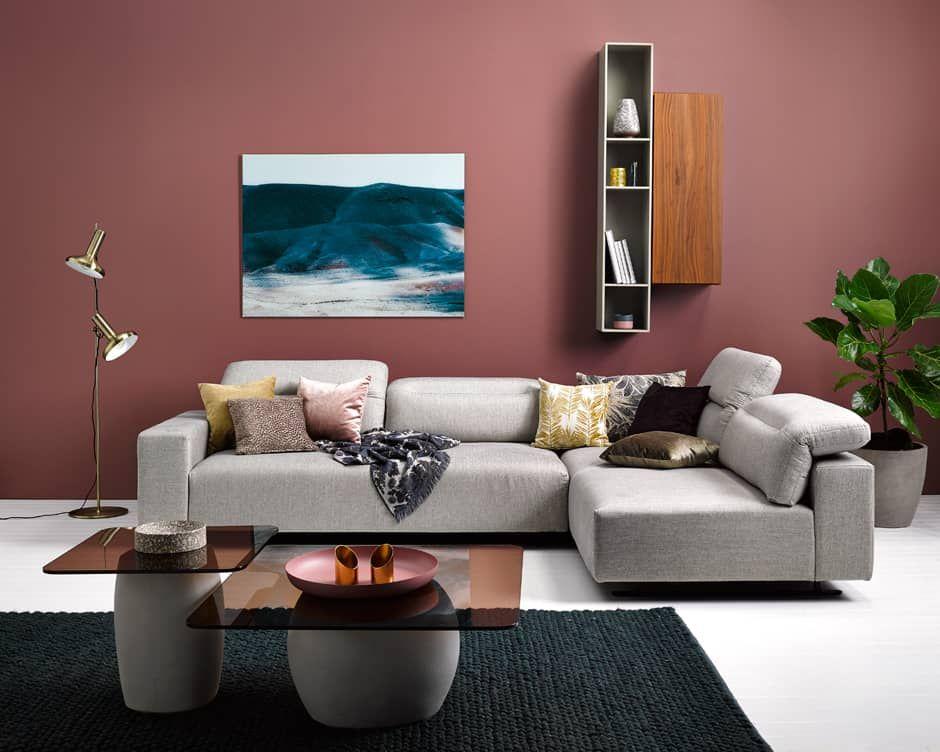 Mezzo sofa #leather #sofa | Boconcept, Sectional couch