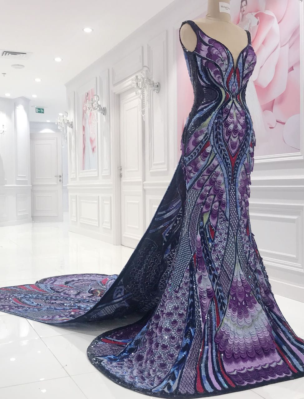 Photo of Aishwarya Rai's Butterfly Dress at Cannes Took 3,000 Hours To Make and We Are FLOORED