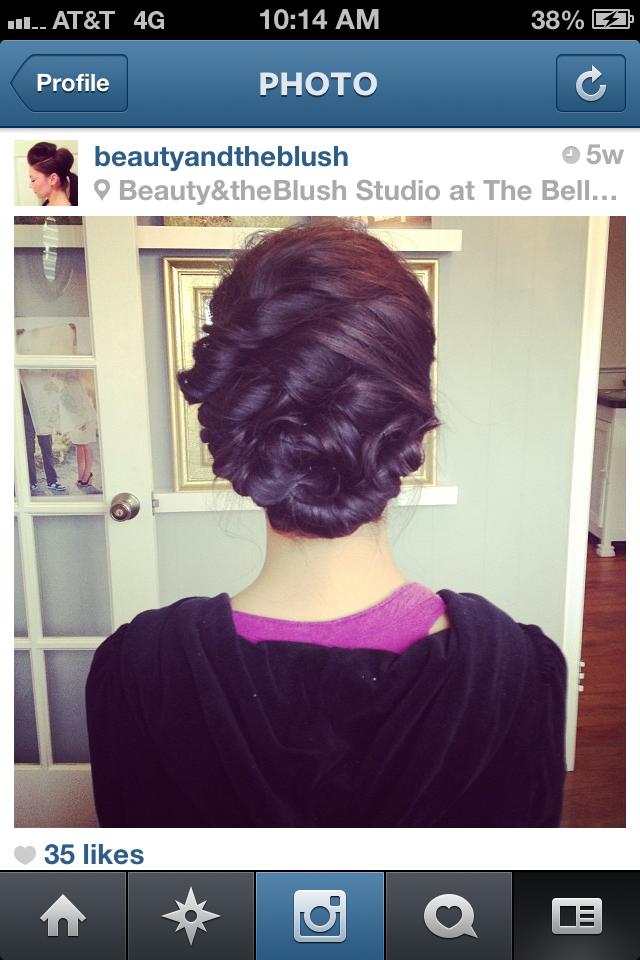 wedding hair by Beauty