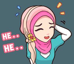 Best Funny Emoji  Hijab Kekinian - Stiker LINE | LINE STORE 2