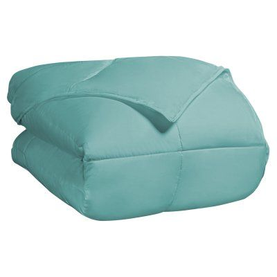Classic All Season Down Alternative Comforter by Superior Turquoise - COMFORTER FQ CL-TQ