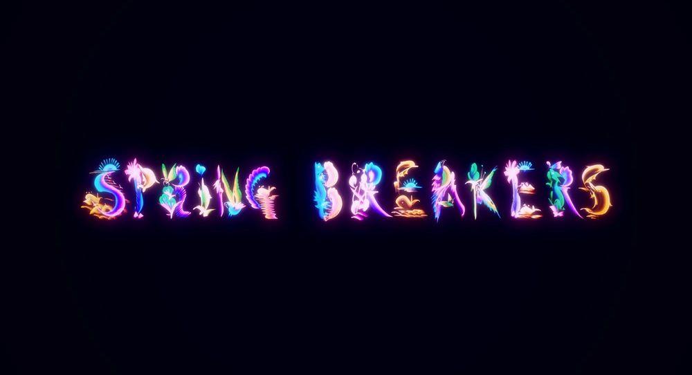 Spring Breakers opening