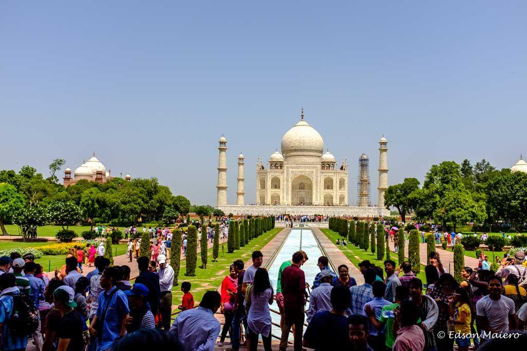 a beleza do Taj Mahal