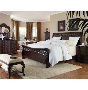 Heritage hill collection master bedroom bedrooms art - Bedroom furniture stores michigan ...