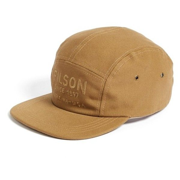Men s Filson Canvas Five Panel Cap (4485 RSD) ❤ liked on Polyvore featuring  men s fashion ff021eac21a