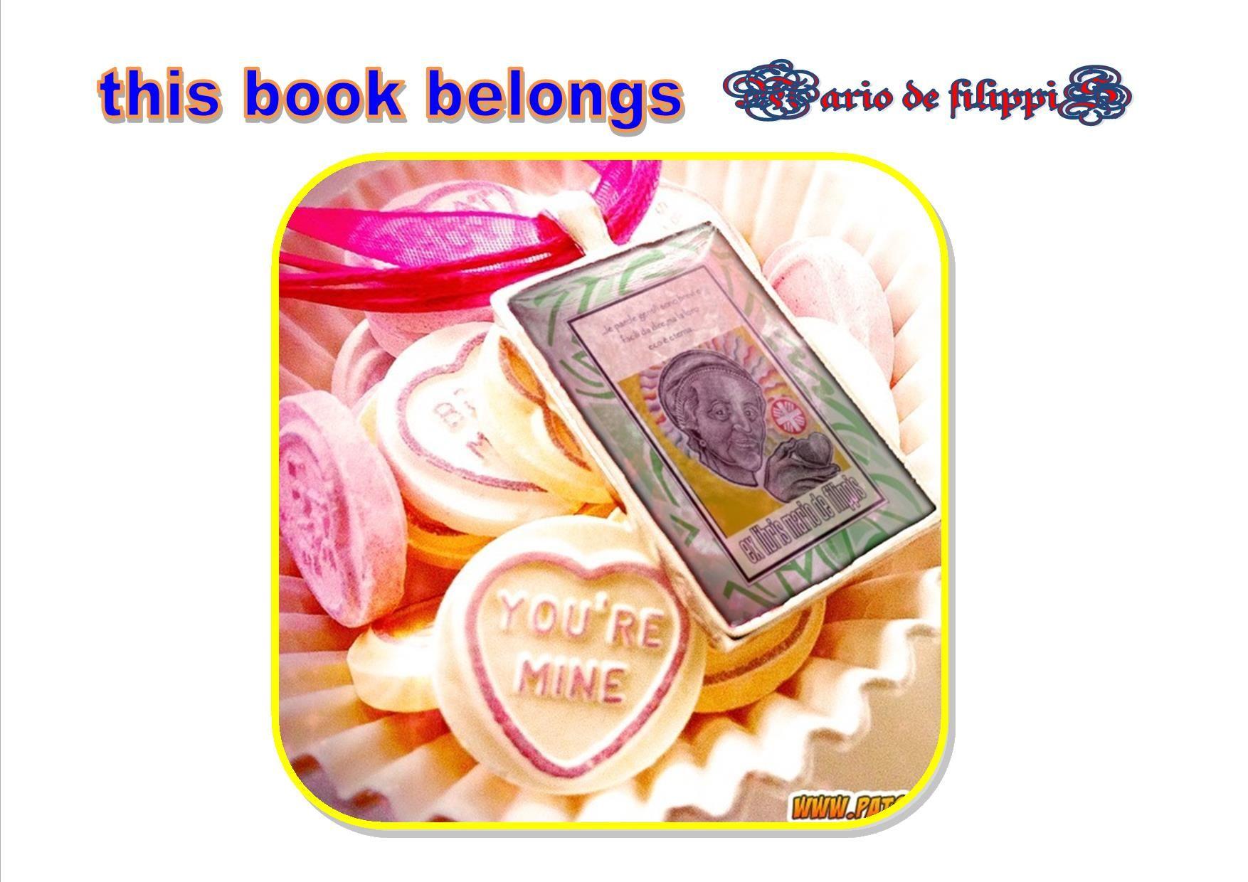ex libris mario de filippis