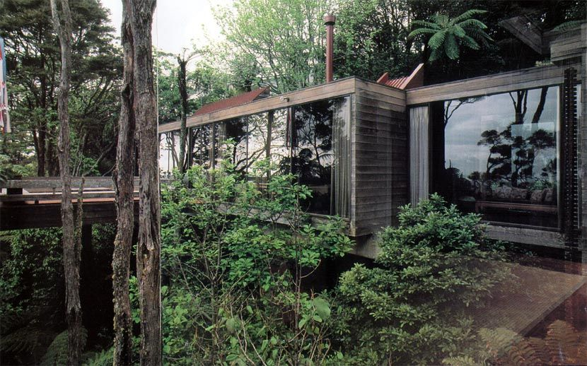 Auckland architect brake house my perfect box home in - Architect designed modular homes nz ...