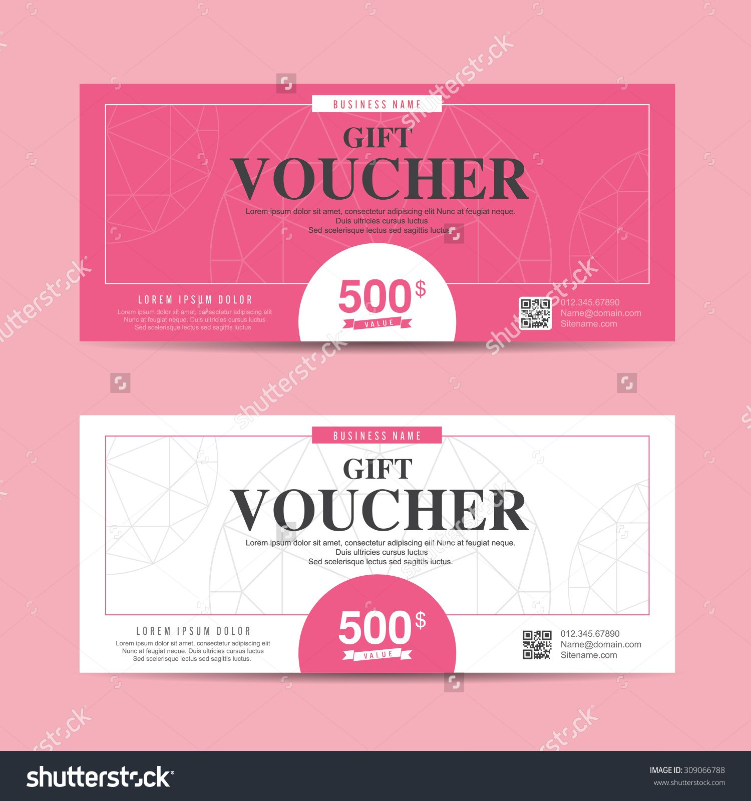 gift certificate template for pages