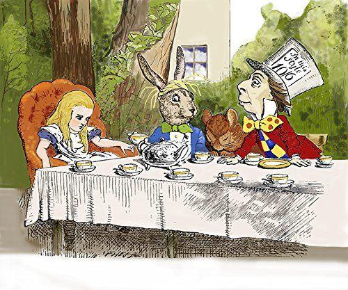Amazon Co Jp 不思議の国のアリス 狂ったお茶会 のマウスパッド フォトパッド アリスシリーズ モノクロ ホーム キッチン 不思議の国のアリス アリス お茶会