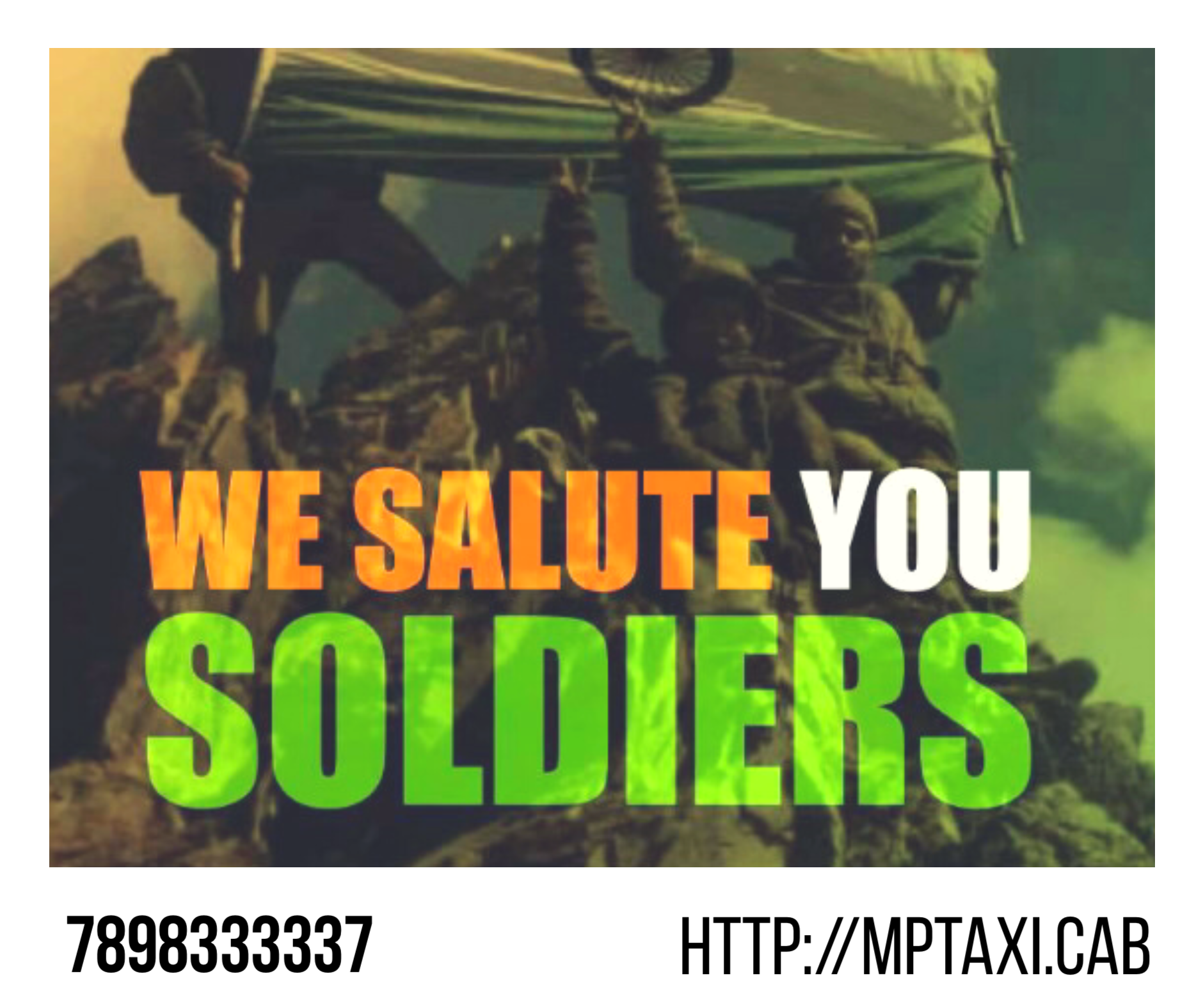 This Kargil Vijay Diwas team #Mp_Taxi_Cab salutes the true heroes of the  nation,