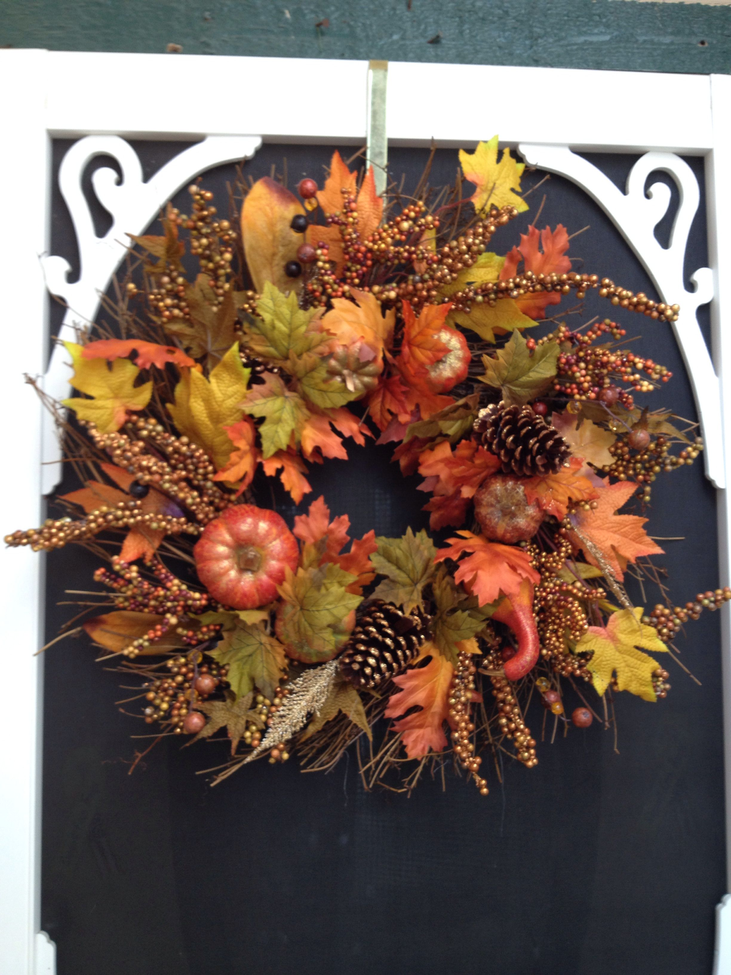 Fall wreath 25.99 at Costco | Wreaths ,Swags ,and Arrangements ...