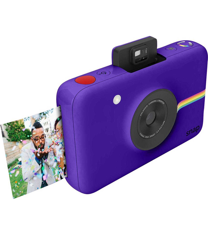 Polaroid Snap Instant Print Camera - Purple | Instant digital ...