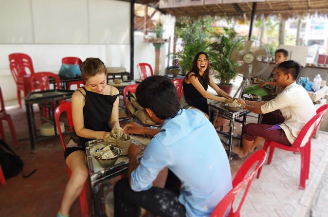 Siem Reap Pottery Making and Ceramic Art Painting Experience Bring - artistic skills