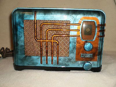 Fada Custom Painted Bakelite Radio