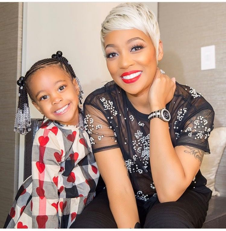 Singer Monica And Her Daughter Laiyah Brown Mommy Me Sassy
