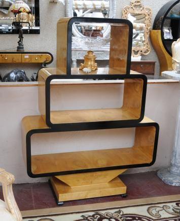 Art Deco Vintage Bookcase Shelf Unit 1920s Furniture