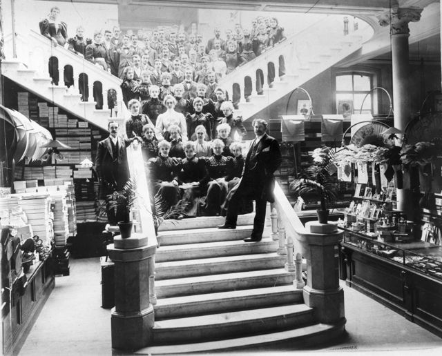 The Staff Of Anderson And Mcauley S Department Store