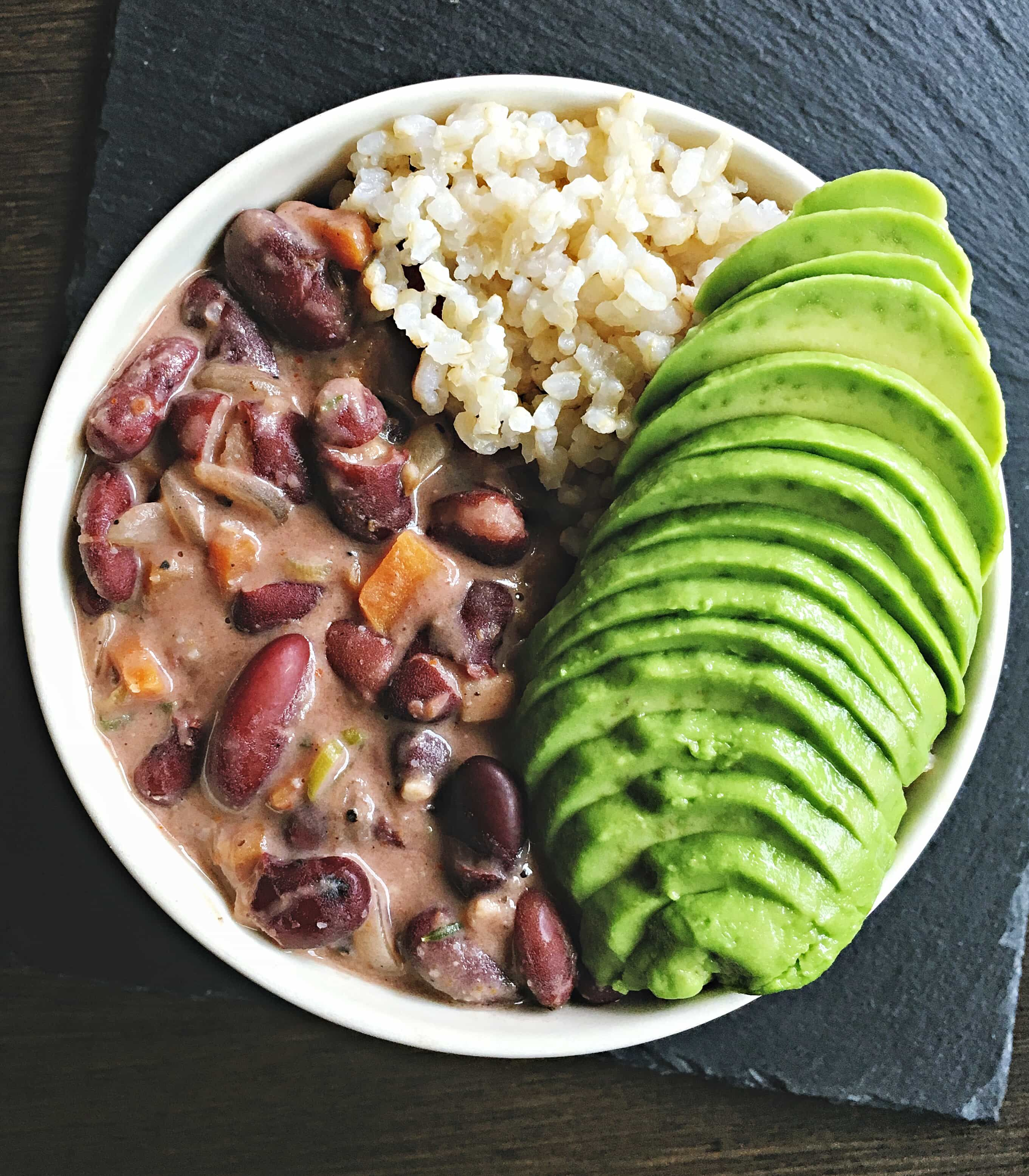 this vegan jamaican stew peas is comforting wholesome and