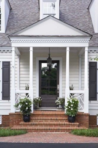 LUCY WILLIAMS INTERIOR DESIGN BLOG: CURB APPEAL: MAKING YOUR FRONT DOOR THE FOCAL POINT!