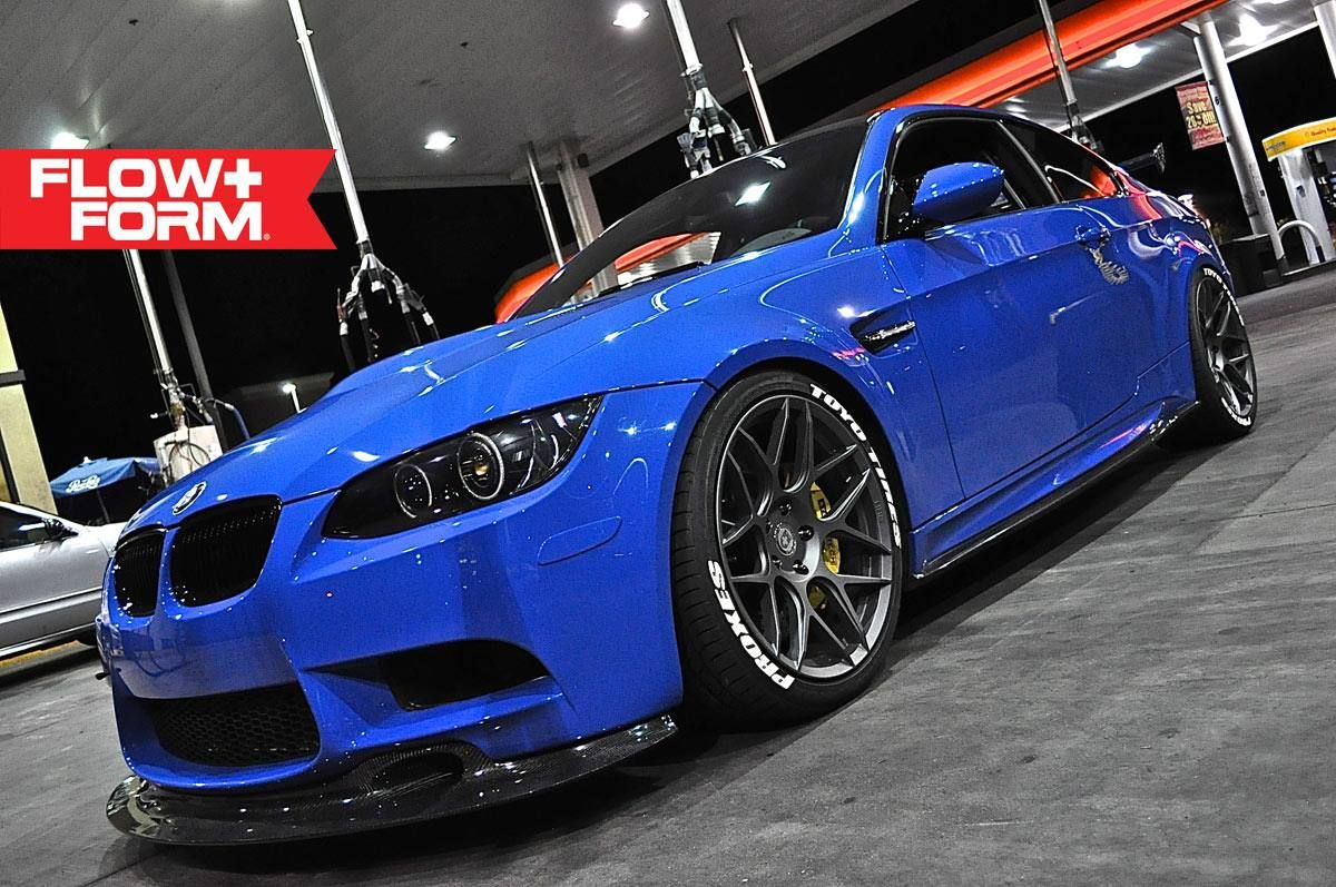 Love This Santorini Blue Color On This E92 Bmw M3 On